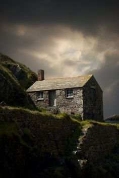 Mullion Cove, on the Lizard peninsular, Cornwall, England