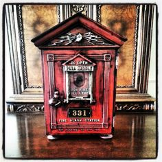 Antique Vintage Early 1900s Cast Iron Gamewell by MikesAmericana, $1449.95