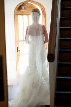 bride shot from behind
