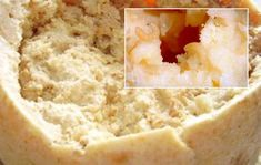 Casu Marzu is sheep milk cheese… with thousands of wriggling maggots. The live maggots indicate that this cheese is good to eat. Photo Source :Weird World Wonders Gross Food, Weird Food, Creepy Food, Cannoli, Decadent Food, Milk And Cheese, Italian Cheese, Exotic Food, People Eating