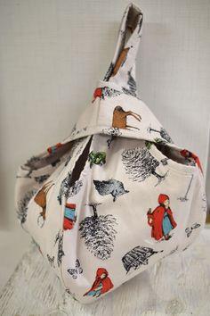Little Red Riding Hood bag quilt pattern - Kokka-Fabric.com. Tutorial