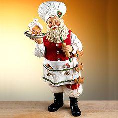 Gingerbread Santa Chef