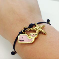 Vineyard Vines and starfish bracelet