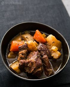 Slow Cooker Guinness Stew Recipe on Yummly. @yummly #recipe