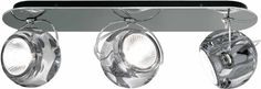 Beluga Color Three Lights Wall/Ceiling Light Beluga Light offers adjustable direct and accent illumi Basement Lighting, Dining Lighting, Modern Lighting, Basement Furniture, Wall Lights, Ceiling Lights, Wall Mounted Light, Innovation Design, Polished Chrome