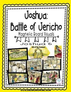 Joshua and the Battle of Jericho Magnetic Board Visuals
