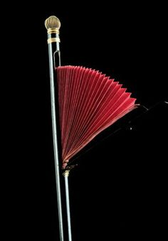1880 cane with secret fold-out fan