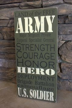 And they did an Army one too! Would love to have both for our memorial display we are planning.
