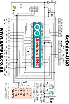 Seduino - Arduino UNO Compatible Arduino Cnc, Arduino Circuit, Arduino Board, Electronics Basics, Electronics Projects, Arduino Display, Arduino Controller, Simple Arduino Projects, Electronic Circuit Projects