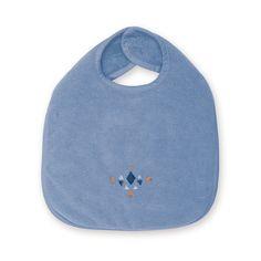 Een grote slab van 37cm in een jeans blauwe kleur (shade), van het merk Bemini (vroeger babyboum). Deze slab vervaardigd uit bamboe is niet alleen zacht, maar ook waterproof en absorberend. De slab is voorzien van een velcro sluiting en een kleine print.