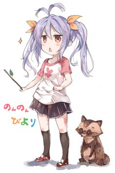Crunchyroll - Japan's Most Popular Fan Art: Bonus Round! Non Non Biyori