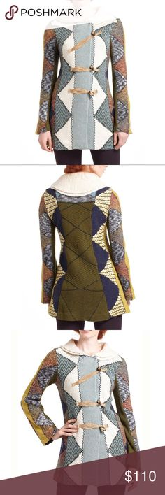 Spotted while shopping on Poshmark: Anthropologie Harlequin Patchwork Sweater Sz S! #poshmark #fashion #shopping #style #Anthropologie #Sweaters