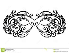 Masquerade Mask Template  Google Search  Face Painting  Masks