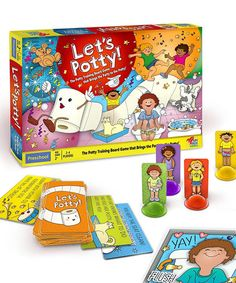 Look at this #zulilyfind! Let's Potty! Board Game by Let's Potty #zulilyfinds