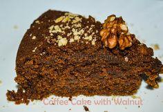 Coffee Cake with Walnut - Vegan