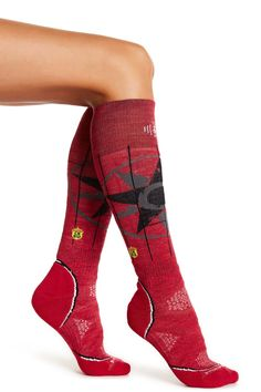 Charley Harper Owl Ski Socks