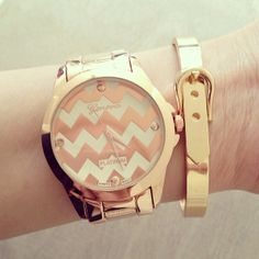 Pink and Chevron, what's not to love