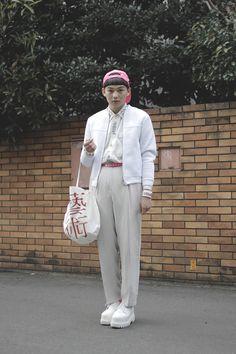 [Street Style] Yen Lin | 学生 | Harajuku (Tokyo)
