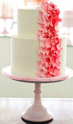gorgeous #wedding cake