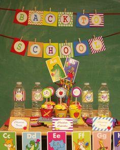 Blog My Little Party - Ideas e Inspiración para Fiestas: Fiestas Temáticas: Vuelta al Cole