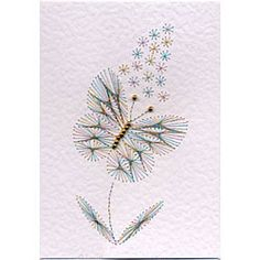 Form-A-Lines Stitching Cards Butterfly 2
