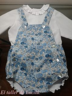 Liberty romper plus collar shirt for babies | Love it