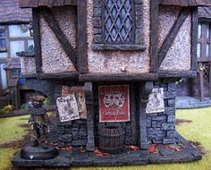 The Merchant's House from Tabletop World (painted by cianty)