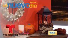Decoraciones creativas para el Día de Acción de Gracias | Un Nuevo Día |...