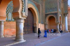 Meknes, Bab al-Mansur, 1732, Morocco