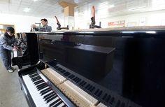 인기가 높은 피아노를 생산  -평양피아노합영회사-