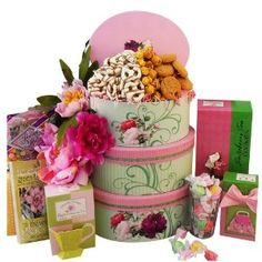 Wedding gift:Art of Appreciation Gift Baskets Fanciful Flavors Gourmet Tea and Snacks Tower