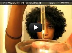 Hot Oil Treatment for Your Hair
