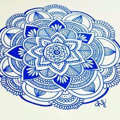Daniela Hoyos Art @danielahoyos Mandala...Instagram photo | Websta (Webstagram)