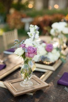 Purple, Ivory and Champagne Vintage Glam Wedding - Davis Islands Garden Club - Tampa Wedding Photographer Stephanie A. Smith Photography (21)