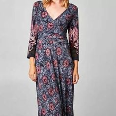 NWOT Maxi Dress NWOT! • Never Worn Color • Purple  Fabric • 94% Polyester, 6% Spandex ✂️Measurements -  Bust • 30 Inches Waist • 28 Inches  Full Length • 59 Inches Sleeve Length • 18 Inches✂️ Stretchy Fabric Made in USA NO TRADES No Offers Please • Price Is Firm • I Paid Full Price Boutique Dresses Maxi