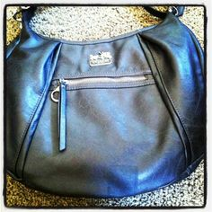 #coach handbags Coach Leather Hamptons Carryall Bag Purse Black F 13084-100% Authentic Guaranteed with Coach Tissue Paper & Box Available (Apparel)
