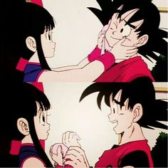 Goku and Chichi best couple ever
