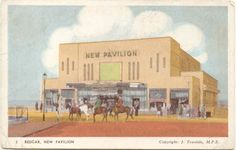 New Pavilion, Redcar  Now the Regent Cinema. Postmarked 1950.