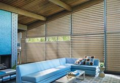 Hunter Douglas PowerView Motorization -- Wireless motorization lets you control and schedule your window treatments from your smartphone, tablet, or remote control.