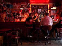 Le Fanfaron, Paris Rock n Roll Bar Bares Y Pubs, Rock Bar, Underground Bar, Night Bar, Rolling Bar, Dive Bar, Flight And Hotel, Bar Interior, Man Cave Garage