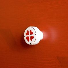 With love for loved ones <3  enameled knobs by www.dotgalki.pl