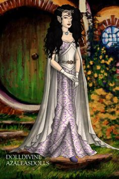 Rarity ~ by toramonger ~ created using the LotR Hobbit doll maker | DollDivine.com