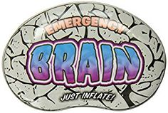 Amazon.com: Accoutrements Emergency Inflatable Brain: Toys & Games