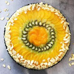 Ovocny kolac s mandlemi 👌🏻