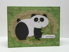 Debbie's Designs: Punch Art Panda!