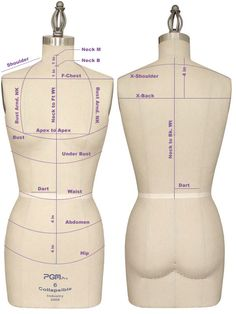 Getting the right fit Below are some measuring key point reference to help you on how to measure your dress form and body measurement. Neck Base To find the base of the neck, have the person ti (How To Make Dress Form) Sewing Basics, Sewing Hacks, Sewing Tutorials, Sewing Crafts, Sewing Projects, Sewing Patterns, Sewing Tips, Sewing Blogs, Clothes Patterns