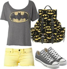 I found 'Batman Stuff' on Wish, check it out! This is for you , Ashton. Longer shorts though.