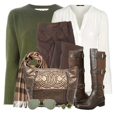 """""""Fall Coming Soon to a Town Near You!"""" by brendariley-1 ❤ liked on Polyvore featuring мода, Marni, Woolrich, Cole Haan, Burberry, Chanel, BERRICLE и Ray-Ban"""