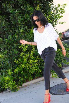 Ways To Style A White Window Pane Shirt