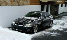 Black on white #BMW 328XI E90